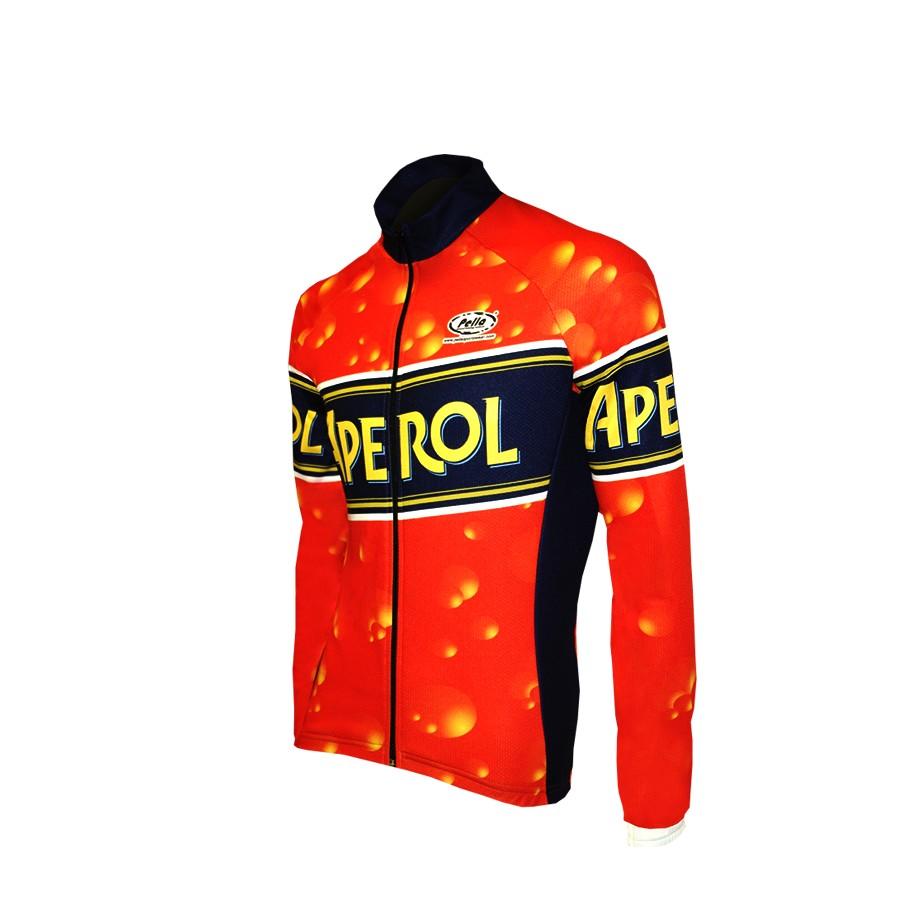 Aperol Long Sleeve Cycling Jersey – LKY7 9d7d7ed4f